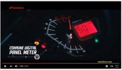 speedometer all new honda supra gtr 150