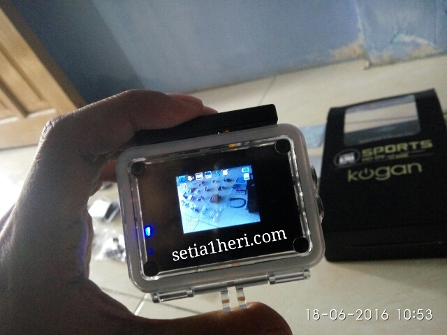 Action Cam murmer Kogan Sport HD 1080P (12 MP) versi 2016~03