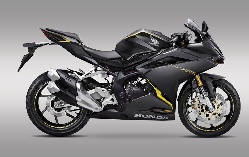 All New Honda CBR250RR tahun 2016 warna kuning