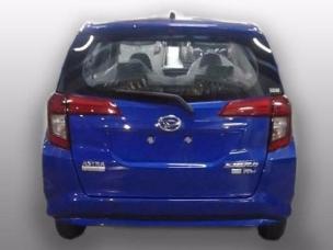 Daihatsu Sigra warna biru tahun 2016