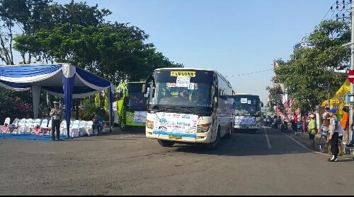 mudik balik yamaha 2016 bersama Pt stsj dan radar Surabaya