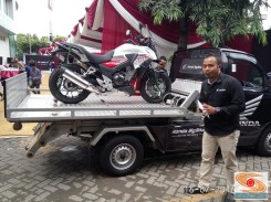 towing motor gede di MPM Honda Jawa Timur