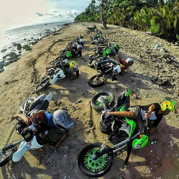 curcol anak trail dari komunitas trail odhong2 indonesia tahun 2016