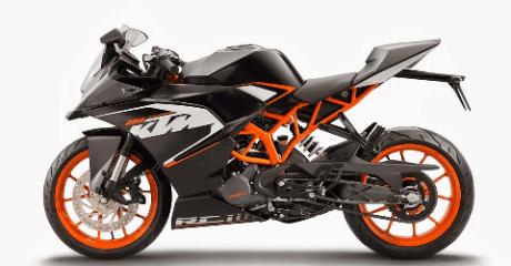 harga KTM RC 200 di potong hingga setengah harga di GIIAS tahun 2016