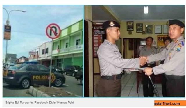 polisi-melanggar-rambu-lalu-lintas-dapat-penghargaan-di-jember-tahun-2014