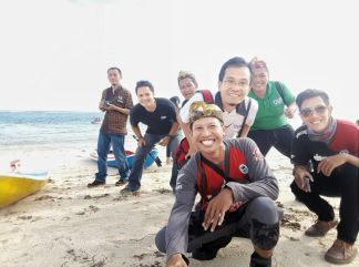 blogger-honda-di-pantai-pandawa-tahun-2016-1