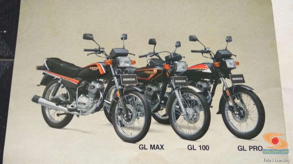 Ini beda Honda GL Max, GL 100 dan GL Pro brosis