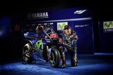 tunggangan Yamaha M1 untuk maverick vinales musim moto gp tahun 2017