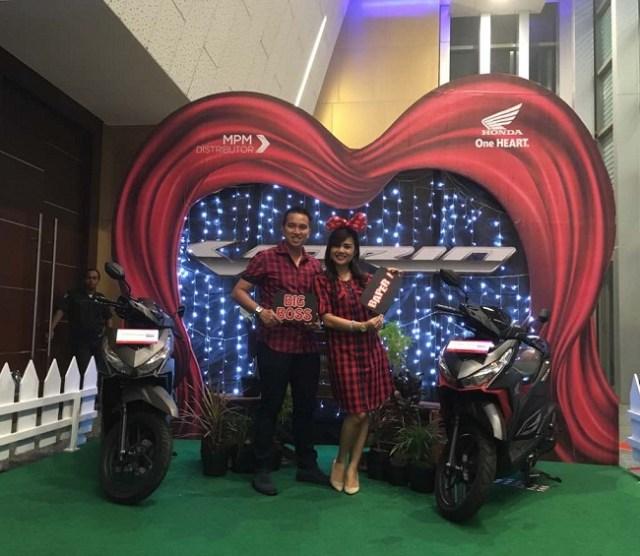 romantic dinner valentine bersama mpm honda motor tahun 2017