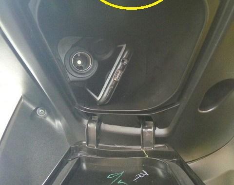 Cara Baik Dan Benar Buka Bagasi Charger Di Yamaha Aerox 155 Vva