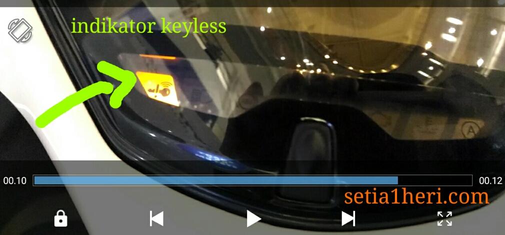 indikator keyless aerox 155 vva versi S