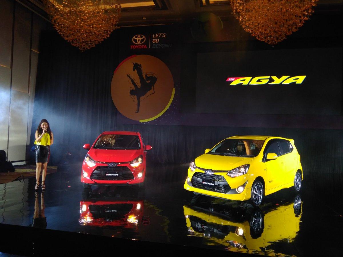 Harga Dan Spesifikasi Lengkap All New Toyota Agya Tahun 2017