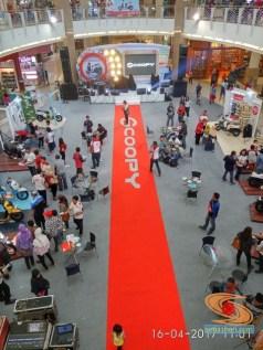 karpet merah scoopy di royal plaza 2017
