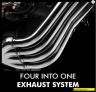 exhaust system moge honda cb650f tahun 2017