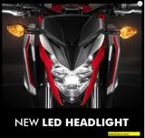 headlamp moge honda cb650f tahun 2017