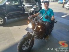 khs njajal numpak moge honda cmx 500 rebel tahun 2017 (2)