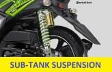 shock tabung yamaha x-ride 125 tahun 2017
