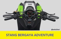 stang adventure yamaha x-ride 125 cc tahun 2017