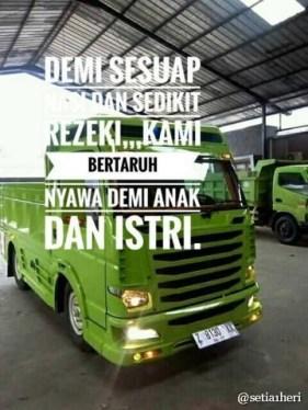 Kumpulan Tulisan kaca samping truck canter yang bikin gerrr.....gerrr... (11)