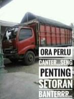 Kumpulan Tulisan kaca samping truck canter yang bikin gerrr.....gerrr... (28)