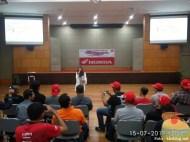 Puluhan Blogger dan Vlogger se-Indonesia kunjungi pabrik motor Honda di Plant Karawang tahun 2017 (4)