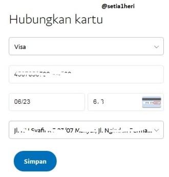 verifikasi paypal via bank permata tahun 2017