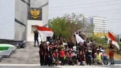 Serunya Honda CB150R StreetFire Konvoi Kemerdekaan 2017 di Kota Surabaya (10)