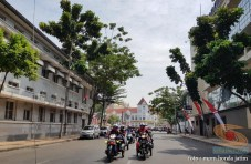 Serunya Honda CB150R StreetFire Konvoi Kemerdekaan 2017 di Kota Surabaya (7)