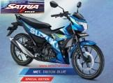 Warna baru Suzuki All New Satria F150 - 2017 - Met Triton Blue Moto GP