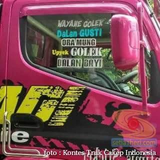 Kumpulan Tulisan lucu di kaca samping truk ….hehehe….gokil 2017 (27)