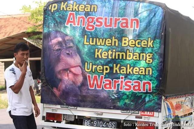 Kumpulan Tulisan lucu di kaca samping truk ….hehehe….gokil 2017 (6)