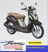 warna cocho caramel Yamaha fino premium ban lebar dan tubeless tahun 2017