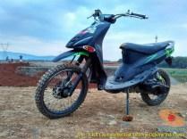Kumpulan gambar motor trail basis motor matic alias trail matic (11)