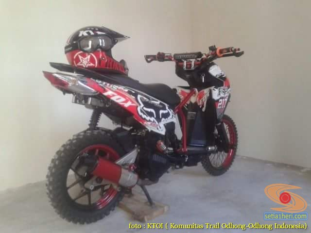 Kumpulan Gambar Motor Trail Basis Motor Matic Alias Trail Matic