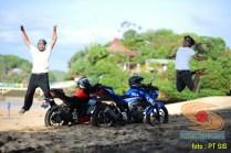 Suzuki GSX-S150 explorasi Pesisir Pantai Selatan Malang 2017 (1)