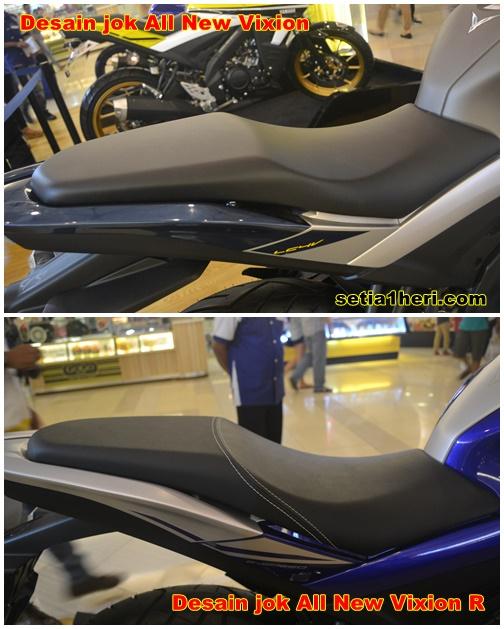 Perbedaan Nyata Yamaha All New Vixion Dan All New Vixion R Tahun