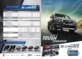 brosur Spesifikasi dan harga mobil Suzuki New SX4 S Cross tahun 2017 (1)