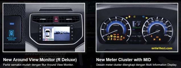 Fitur baru pada mobil All New Daihatsu Terios tahun 2017