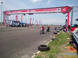 Meriahnya final Honda Dream Cup 2017 di Kota Surabaya (2)