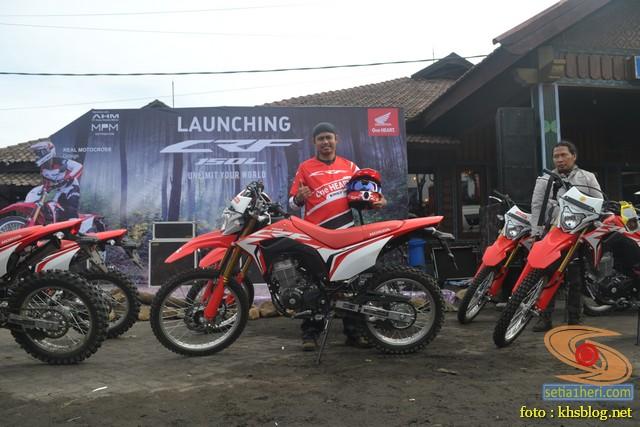 khs bersama honda trail crf150l di Bromo Jawa Timur (2)