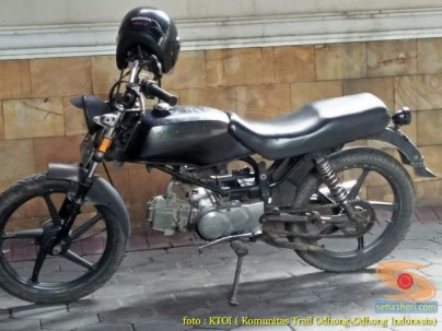 kumpulan foto honda win modifikasi retro