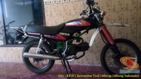 kumpulan modifikasi honda win trail