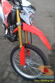 shock USD showa punya trail honda crf150l