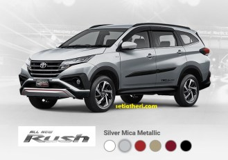 6 pilihan warna all new toyota rush 2018