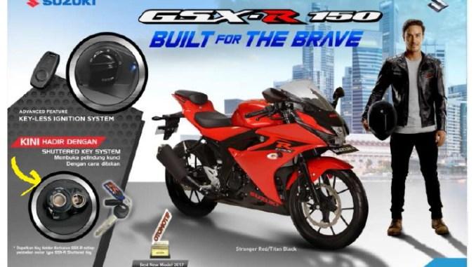 Harga Motor Suzuki Gsx R150 Versi Shutter Key Di Jawa Timur