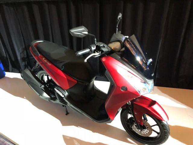 Penampakan Yamaha Lexi 125 cc tahun 2018...mirip adiknya NMAX gans...
