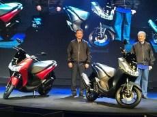 Penampakan Yamaha Lexi 125 cc tahun 2018...mirip adiknya NMAX gans.. (3)