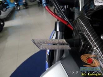 gambar detail Modifikasi sadis Suzuki GSX S 150 dari Kota Pahlawan tahun 2018 (22)