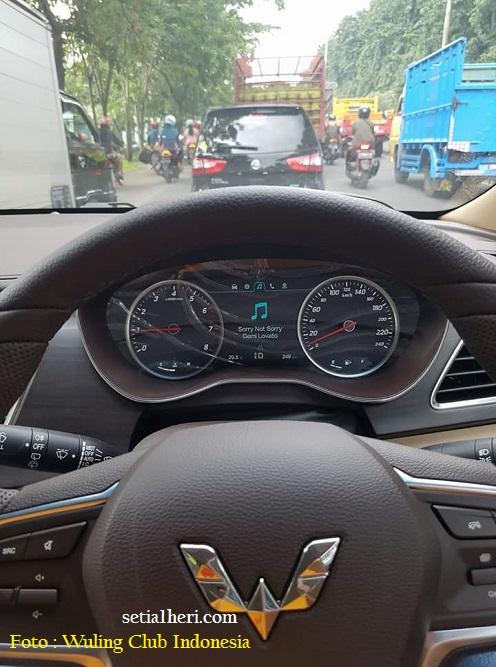 Review sekilas dan test drive mobil Wuling Cortez