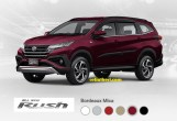 warna all new toyota rush 2018